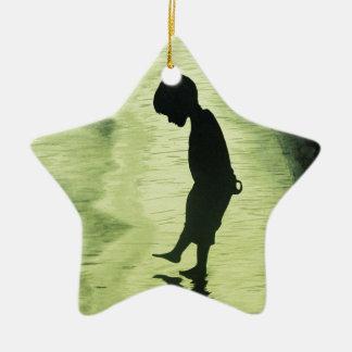 The Loneliness Ceramic Ornament