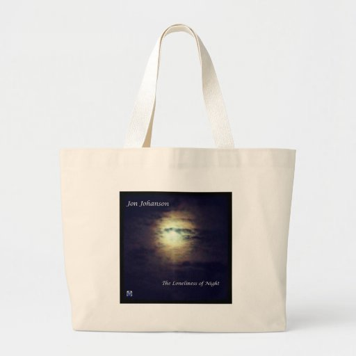 The Loneliness of Night Canvas Bags