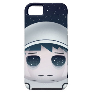 The Lonely Astronaut in Space iPhone 5 Cover