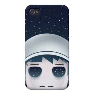 The Lonely Astronaut in Space iPhone 4 Covers
