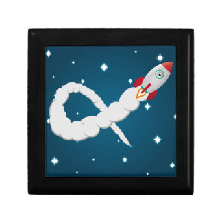 The Lonely Astronaut Keepsake Box
