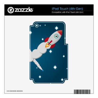 The Lonely Astronaut Skin For iPod Touch 4G