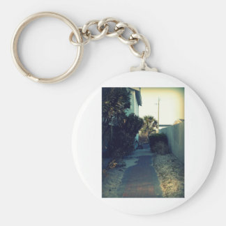 The Lonely Bench Basic Round Button Keychain