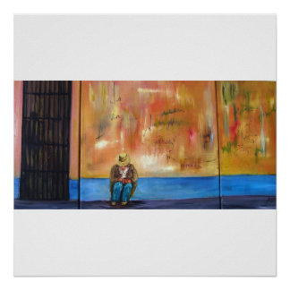 The Lonely Cuban Framed Print