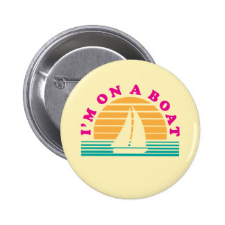 The Lonely Island On A Boat Button