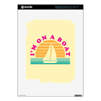 The Lonely Island On A Boat Skin For iPad 3