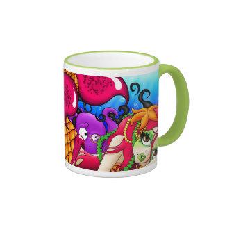 The Lonely Mermaid Coffee Mugs