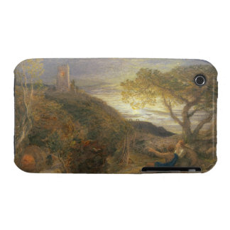 The Lonely Tower, 1868 (w/c & bodycolour and gum a iPhone 3 Case