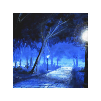 The Lonely Walk - Solace Park Collection Canvas Print