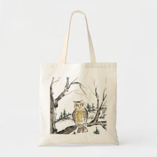 The Lonesome Owl Tote Bag