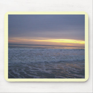 The Long Beach Sunset Mouse Pad