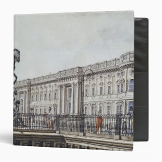 The long bridge with an aristocratic monument binders