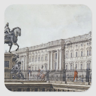 The long bridge with an aristocratic monument square sticker