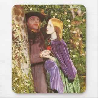 The Long Engagement, Arthur Hughes, Victorian Art Mouse Pad