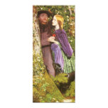 The Long Engagement by Arthur Hughes 4x9.25 Paper Invitation Card