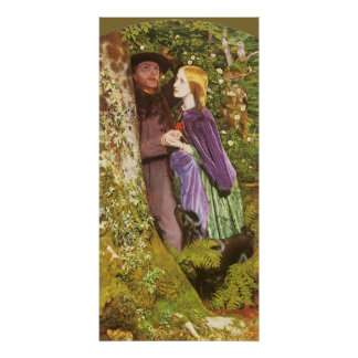 The Long Engagement by Arthur Hughes Poster