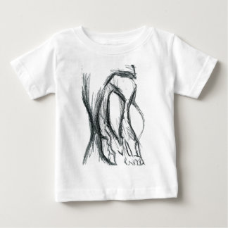 The long face of thanatos baby T-Shirt