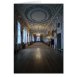 The Long Gallery at Sudbury Hall, Derbyshire Greeting Card