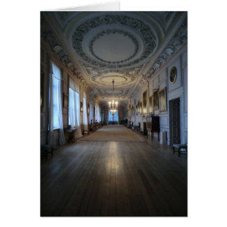 The Long Gallery at Sudbury Hall, Derbyshire Greeting Card