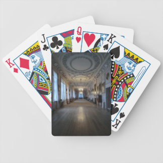 The Long Gallery at Sudbury Hall, Derbyshire Bicycle Card Decks