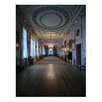 The Long Gallery at Sudbury Hall, Derbyshire Postcard