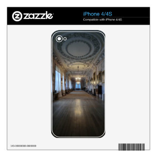 The Long Gallery at Sudbury Hall, Derbyshire Decal For The iPhone 4S
