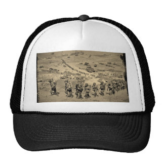 The Long Line From Omaha Beach Trucker Hats