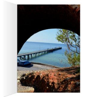 The Long Pier, Card