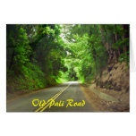 The long road home, Old Pali Road card