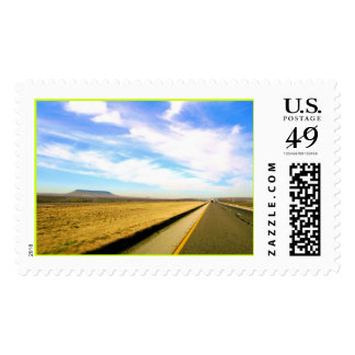 The Long  Road Postage Stamps