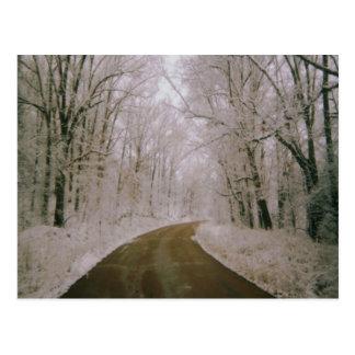 The Long Road Postcard