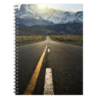 The Long Road To Fitzroy Mountain - Ruta 40 Notebook