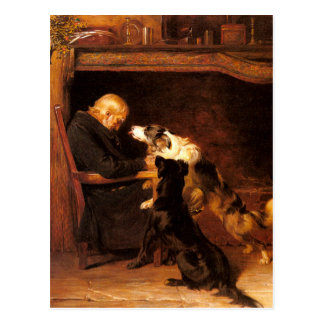 The Long Sleep by Briton Riviere Postcard