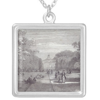 The Long Walk, Windsor Silver Plated Necklace