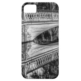 The Long White Bridge (b&w).jpg iPhone 5 Case