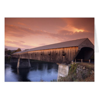 The longest covered bridge in the United States Card