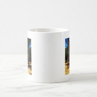 The longest journey begins with a single step coffee mug