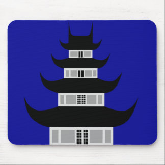 The Longhua Temple Mouse Pad