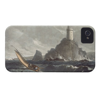 The longships lighthouse of Lands End, Cornwall, f iPhone 4 Cover