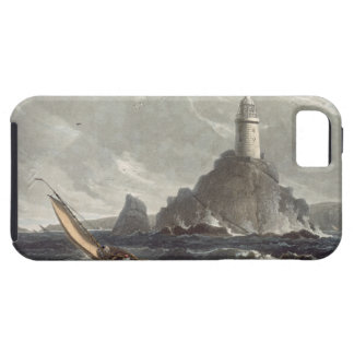 The longships lighthouse of Lands End, Cornwall, f iPhone SE/5/5s Case