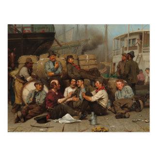 The Longshoremen's Noon Postcard