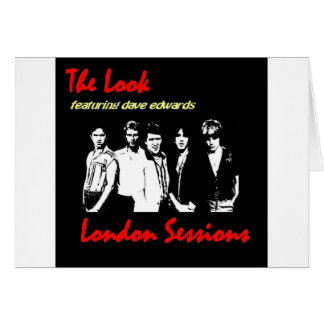 """The Look - """"London Sessions"""" 2009 Card"""