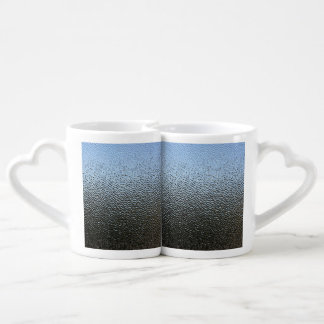 The Look of Architectural Textured Glass Coffee Mug Set