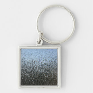 The Look of Architectural Textured Glass Keychain