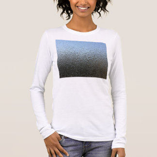 The Look of Architectural Textured Glass Long Sleeve T-Shirt