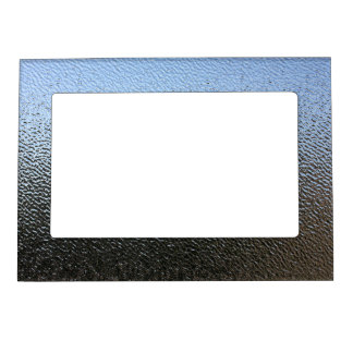 The Look of Architectural Textured Glass Magnetic Picture Frame