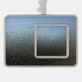 The Look of Architectural Textured Glass Ornament