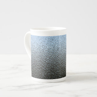 The Look of Architectural Textured Glass Tea Cup