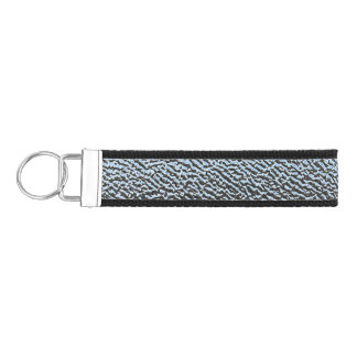 The Look of Architectural Textured Glass Wrist Keychain