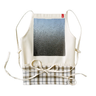 The Look of Architectural Textured Glass Zazzle HEART Apron